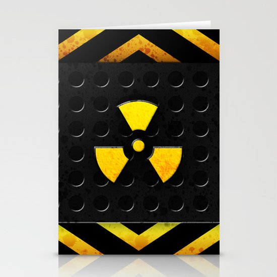 Nuclear Reactor Stationery Card