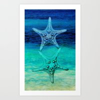 STARS OF THE SEA Art Print
