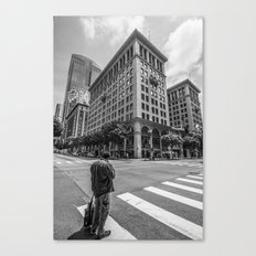 Alone In LA Canvas Print