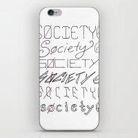 Six Society Sixes iPhone & iPod Skin