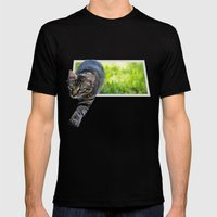 Little Hunter Mens Fitted Tee Black SMALL