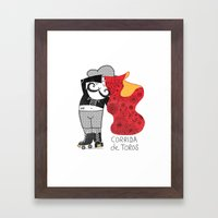 Hernando Loves Being A M… Framed Art Print