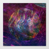 Issybee's Galaxy Canvas Print