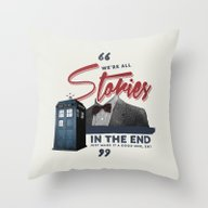 Throw Pillow featuring Doctor Who  by Thatfandomshop