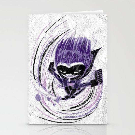 Superheroes SF Stationery Card