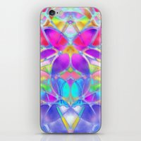 Floral Fractal Art G307 iPhone & iPod Skin