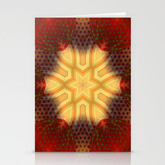 Star Stationery Card