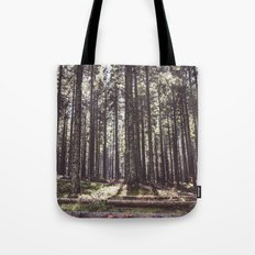 the sound of the forest Tote Bag