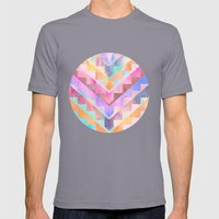 Bermuda Triangle Mens Fitted Tee Slate SMALL