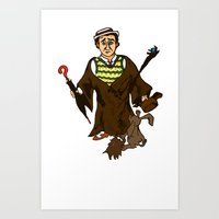 Doctor Radagast Art Print