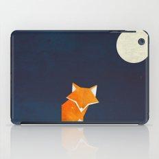 Origami Fox and Moon iPad Case