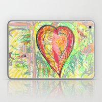 torn heart Laptop & iPad Skin