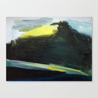 Interstate 70 Curvature Canvas Print