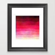 Abstract Stripes Framed Art Print