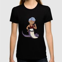 Lamia Lass Womens Fitted Tee Black SMALL