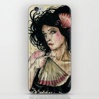 The French Fan iPhone & iPod Skin