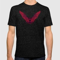 Sacred Bat Mens Fitted Tee Tri-Black SMALL