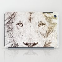 The Intellectual Lion iPad Case