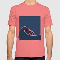 Surf Mens Fitted Tee Pomegranate SMALL