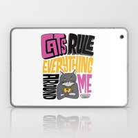 C.R.E.A.M. Cats Rule Everything Around Me Laptop & iPad Skin