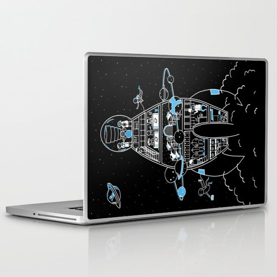 Interstellar Travels Laptop & iPad Skin