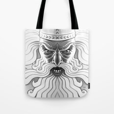 Väinämöinen crossing the lake Tote Bag
