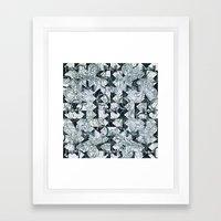 Black Burros Framed Art Print