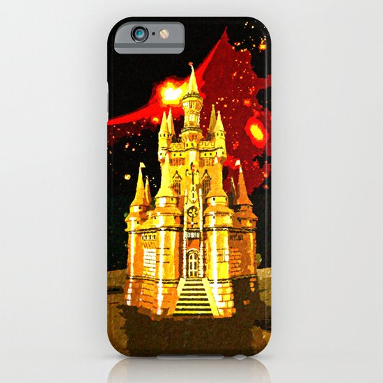 GOLDEN CASTLE-005 iPhone & iPod Case