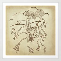 Family Tree Art Print