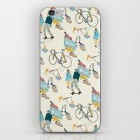 Tonys Bike Shop iPhone & iPod Skin