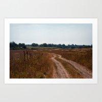 Country road 15 Art Print