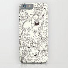 Faces of Math (no color edition)  iPhone 6 Slim Case
