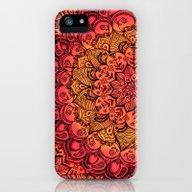 Ruby & Garnet Doodle iPhone (5, 5s) Slim Case