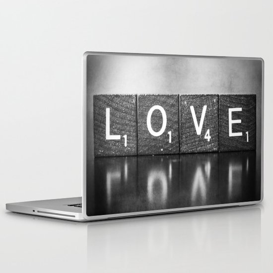 Love is a Beautiful Word - a fine art photograph Laptop & iPad Skin