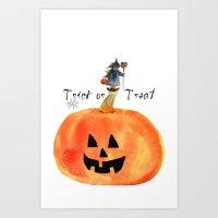 Trick Or Treat Art Print