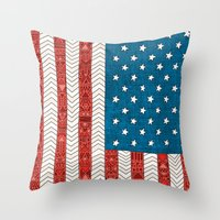 USA Throw Pillow