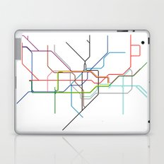 London tube Laptop & iPad Skin