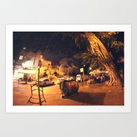 Massada St. - Israel Art Print