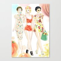 Dolce & Gabbana SS12 Ill… Canvas Print