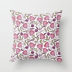 Floral Pattern #53 Throw Pillow