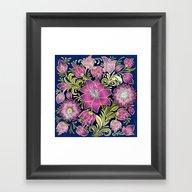 Shabby Flowers #1 Framed Art Print