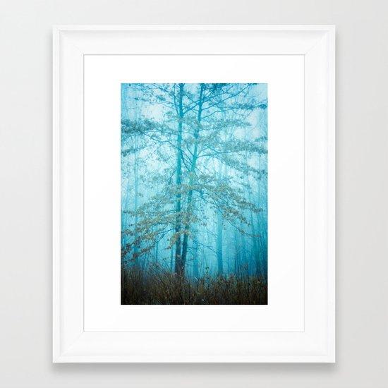 Love Remains Framed Art Print