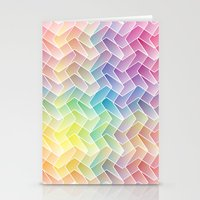 Zigzag & Zigzag Stationery Cards