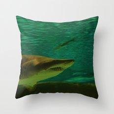 Apex Predator Throw Pillow