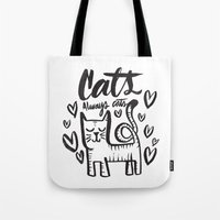 ALWAYS CATS Tote Bag
