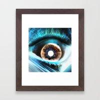 EYE AM  Sci Framed Art Print