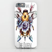 iPhone & iPod Case featuring God Save the Queen by Lindsay Tebeck