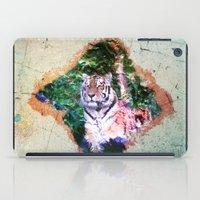 Wild Tiger Digital Paint iPad Case