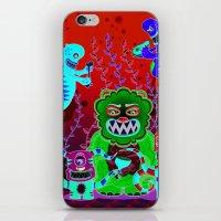 Flesh and Teeth's iPhone & iPod Skin