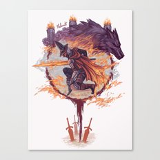 Abyss Watchers - Dark Souls 3 Canvas Print